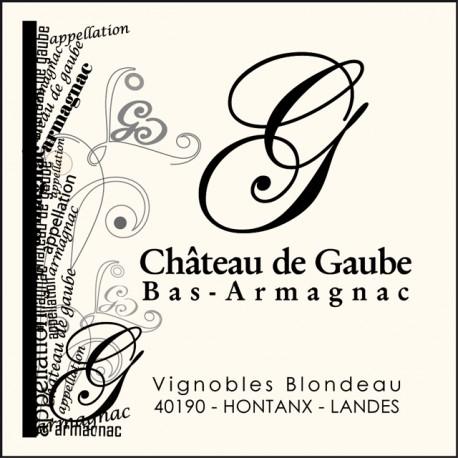 Armagnac Chateau de Gaube - 35cl